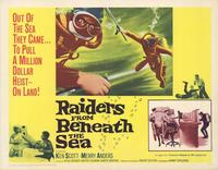 Raiders From Beneath the Sea - 22 x 28 Movie Poster - Half Sheet Style A