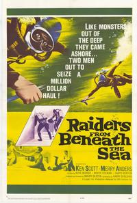 Raiders From Beneath the Sea - 11 x 17 Movie Poster - Style A