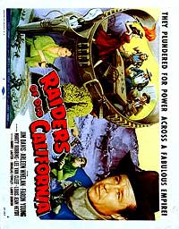 Raiders of Old California - 11 x 17 Movie Poster - Style A