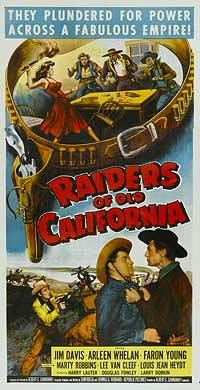 Raiders of Old California - 11 x 17 Movie Poster - Style B