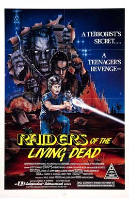 Raiders of the Living Dead - 27 x 40 Movie Poster - Style A