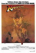 Raiders of the Lost Ark - 27 x 40 Movie Poster - Style A
