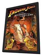 Raiders of the Lost Ark - 11 x 17 Movie Poster - Style B - in Deluxe Wood Frame