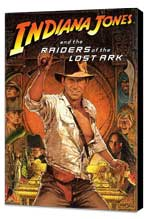 Raiders of the Lost Ark - 11 x 17 Movie Poster - Style B - Museum Wrapped Canvas