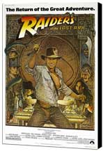 Raiders of the Lost Ark - 11 x 17 Movie Poster - Style C - Museum Wrapped Canvas