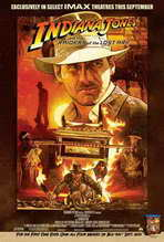 Raiders of the Lost Ark - 27 x 40 Movie Poster - Style E