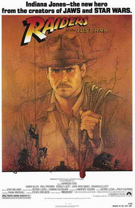 Raiders of the Lost Ark - 11 x 17 Movie Poster - Style A