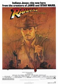 Raiders of the Lost Ark - 43 x 62 Movie Poster - Bus Shelter Style A