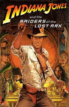 Raiders of the Lost Ark - 11 x 17 Movie Poster - Style B