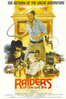 Raiders of the Lost Ark - 27 x 40 Movie Poster - Style C