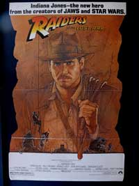Raiders of the Lost Ark - 11 x 17 Movie Poster - Style F