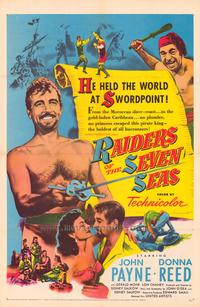 Raiders of the Seven Seas - 11 x 17 Movie Poster - Style A