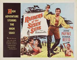 Raiders of the Seven Seas - 11 x 14 Movie Poster - Style A