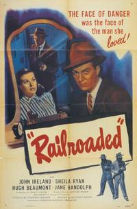 Railroaded! - 11 x 17 Movie Poster - Style A