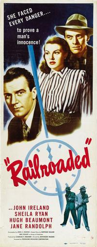 Railroaded! - 14 x 36 Movie Poster - Insert Style A