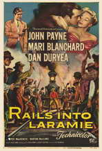 Rails Into Laramie - 27 x 40 Movie Poster - Style A