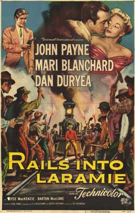 Rails Into Laramie - 11 x 17 Movie Poster - Style A