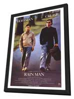 Rain Man - 27 x 40 Movie Poster - Style A - in Deluxe Wood Frame