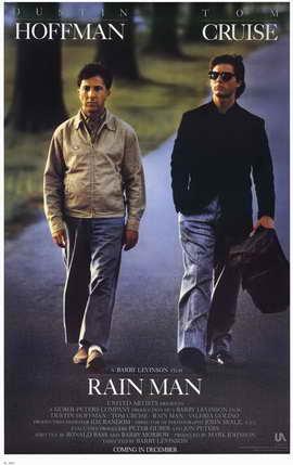 Rain Man - 11 x 17 Movie Poster - Style A