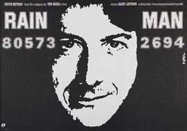 Rain Man - 27 x 40 Movie Poster - Polish Style A
