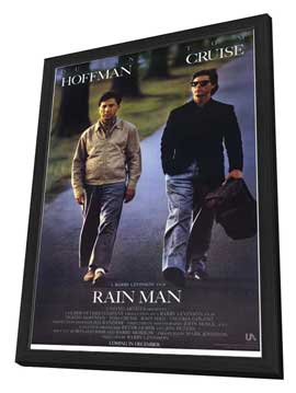 Rain Man - 11 x 17 Movie Poster - Style A - in Deluxe Wood Frame