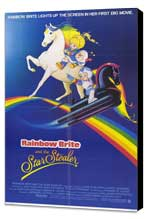 Rainbow Brite and the Star Stealer - 27 x 40 Movie Poster - Style A - Museum Wrapped Canvas
