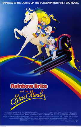 Rainbow Brite and the Star Stealer - 11 x 17 Movie Poster - Style A