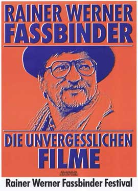 Rainer Werner Fassbinder - 11 x 17 Movie Poster - German Style A