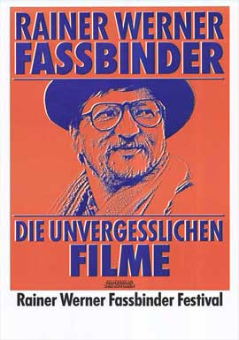Rainer Werner Fassbinder - 27 x 40 Movie Poster - German Style A