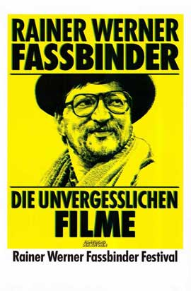 Rainer Werner Fassbinder - 11 x 17 Movie Poster - German Style B