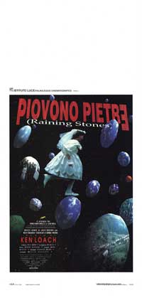 Raining Stones - 13 x 28 Movie Poster - Italian Style A