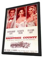 Raintree County - 11 x 17 Movie Poster - Style A - in Deluxe Wood Frame