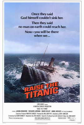Raise the Titanic - 27 x 40 Movie Poster - Style A