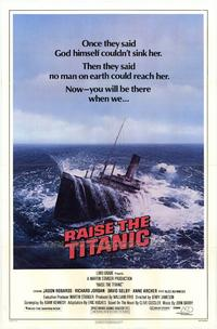 Raise the Titanic - 43 x 62 Movie Poster - Bus Shelter Style A