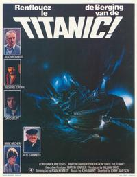 Raise the Titanic - 11 x 17 Movie Poster - Belgian Style A