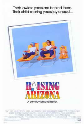 Raising Arizona - 27 x 40 Movie Poster - Style A