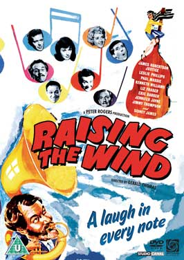 Raising The Wind - 27 x 40 Movie Poster - Style B