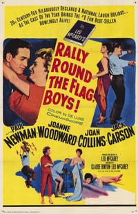 Rally 'Round the Flag, Boys! - 11 x 17 Movie Poster - Style A