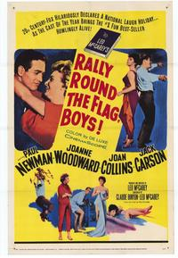 Rally 'Round the Flag, Boys! - 27 x 40 Movie Poster - Style A