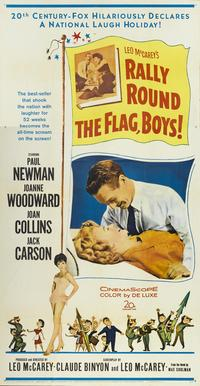 Rally Round the Flag, Boys! - 11 x 17 Movie Poster - Style A