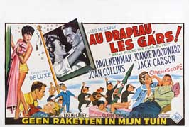 Rally 'Round the Flag, Boys! - 27 x 40 Movie Poster - Belgian Style A