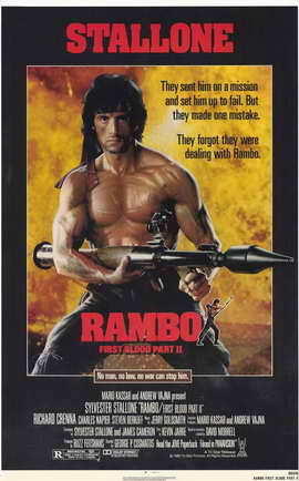 Rambo: First Blood, Part 2 - 11 x 17 Movie Poster - Style A