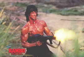 Rambo: First Blood, Part 2 - 27 x 40 Movie Poster - Style B