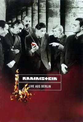 Rammstein: Live aus Berlin - 27 x 40 Movie Poster - German Style A