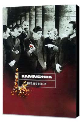 Rammstein: Live aus Berlin - 27 x 40 Movie Poster - German Style A - Museum Wrapped Canvas