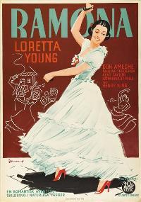 Ramona - 43 x 62 Movie Poster - Swedish Style A