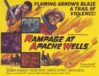 Rampage at Apache Wells - 11 x 14 Movie Poster - Style A
