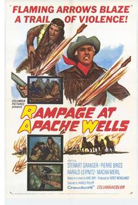Rampage at Apache Wells - 27 x 40 Movie Poster - Style A
