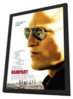 Rampart - 11 x 17 Movie Poster - Style A - in Deluxe Wood Frame
