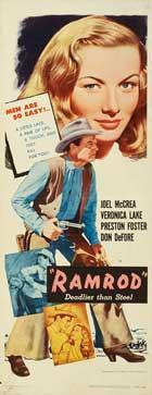 Ramrod - 14 x 36 Movie Poster - Insert Style B